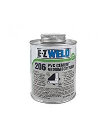 CEMENTO PVC 1/2 PINTA EZ-WELD