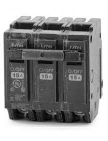 BREAKER 15 AMP 3P G.E THQL32015
