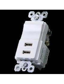 SW 3V + 2 USB 3V TM83USBWCC6