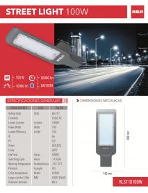 LAMPARA TIPO CALLE 100W 120/277 RCA