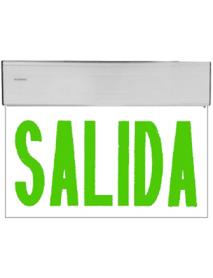 LETRERO DE SALIDA LED VERDE 120/277V SYLVANIA