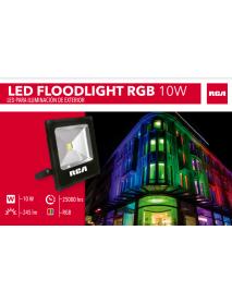 REFLECTOR LED RGB CON CONTROL 10W  120/277V RCA