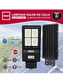 LAMPARA LED TIPO CALLE SOLAR 150W RCA